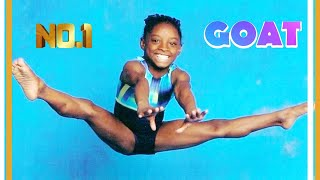 """Baby Simone Biles!  Rare Footage of her start in Gymnastics and the creation of """"The Biles"""""""