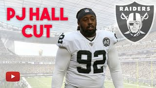 Las Vegas Raiders UPDATE: PJ Hall Released | More Roster Cuts Coming
