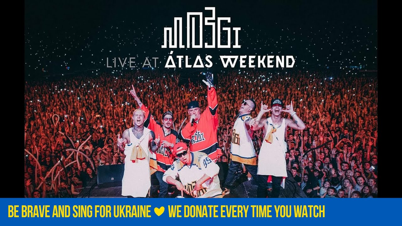MOZGI - Вынос Мозга: Live at Atlas Weekend