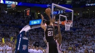 Spurs - Thunder 112-107 : finale (regulation and OT) | Game 6 | western finals 2014