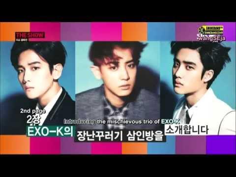 [ENGSUB] Ways To Differentiate EXO K Members