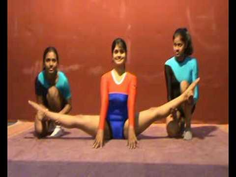 extreme flexibility in yoga asanas from india 1  youtube