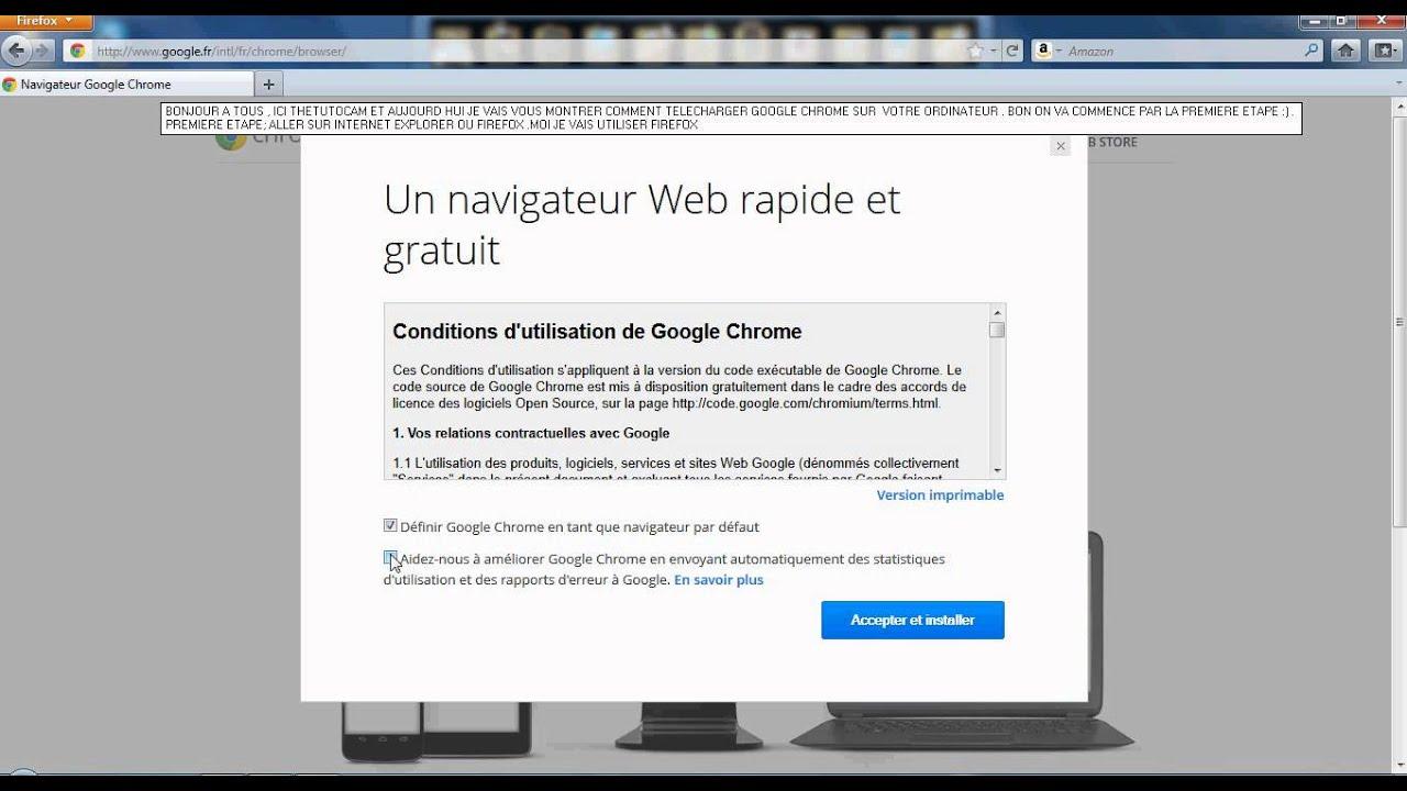 Et Chrome Google Télécharger installer