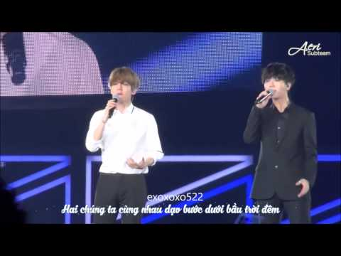 [Vietsub] 150706  Yesung & Baekhyun - 夏の終わりのハーモニー @ SM TOWN LIVE WORLD TOUR IN TOKYO