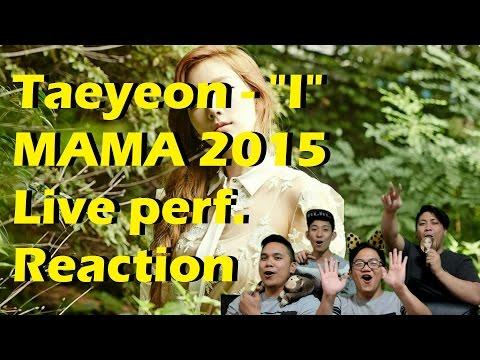 [4LadsReact] [2015MAMA] TAEYEON(태연) _