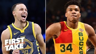Giannis would be better than Steph Curry, KD in the NBA Finals - Max Kellerman | First Take