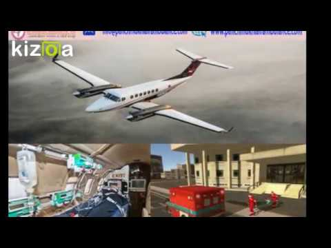 24 Hour Emergency Air Ambulance Service in Bagdogra with Medical Team
