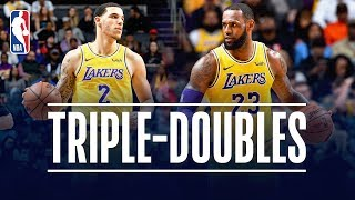 LeBron James & Lonzo Ball Both Record TRIPLE-DOUBLES | December 15, 2018
