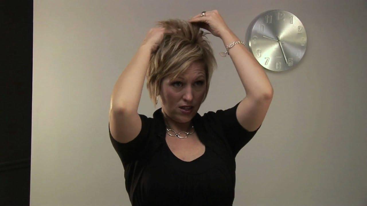Youtube Hair Style: How To: Style Short Hair