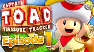 Captain Toad Treasure Tracker Gameplay Walkthrough - Episode 1 - Toad's Adventure! (Nintendo Switch)