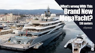 What's Wrong with this Brand New 136m MegaYacht?