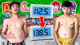 Who Can GAIN the MOST WEIGHT in 24 HOURS - 100,000 Calories Challenge