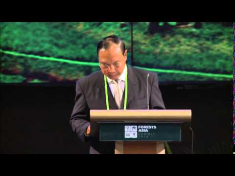 Forests Asia Summit 2014 – U Win Tun, Day 1 Plenary Speech