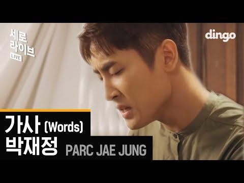 박재정 (Jae Jung Parc) - 가사 (Words) LIVE [세로라이브]