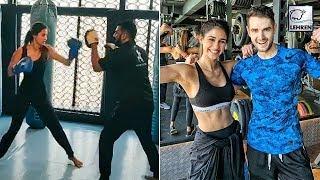 Watch: Disha Patani's Tough Workout In Gym..