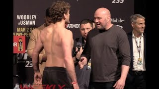 Ben Askren Confronts Dana White at UFC 235 Ceremonial Weigh-Ins