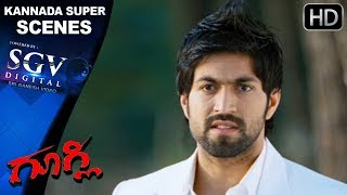 Yash proposes Kruthi   Googly Kannada Movie   Kannada
