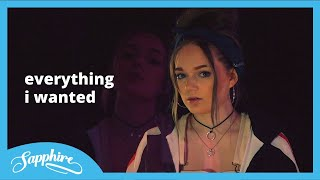 Billie Eilish - everything i wanted   Cover by Sapphire