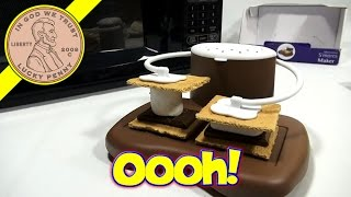 Progressive Microwave S'mores Maker - Graham Crackers, Marshmallows & Chocolate