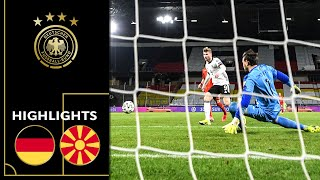 Victory of the Underdog! Germany vs. North Macedonia 1-2 | Highlights | World Cup Qualifiers
