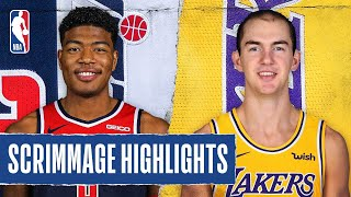 WIZARDS at LAKERS | SCRIMMAGE HIGHLIGHTS | July 27, 2020