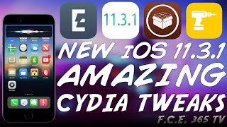 MORE AMAZING CYDIA TWEAKS FOR iOS 11.3.1/11.2/11.4 b3 YOU SHOULD GET!