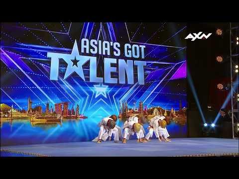 LITTLE TIGERS (리틀 타이거즈) JUDGES' AUDITION - Asia's Got Talent 2017 (아시아 갓 탈렌트)