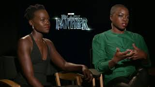 Lupita Nyongo & Danai Gurira Black Panther Interview