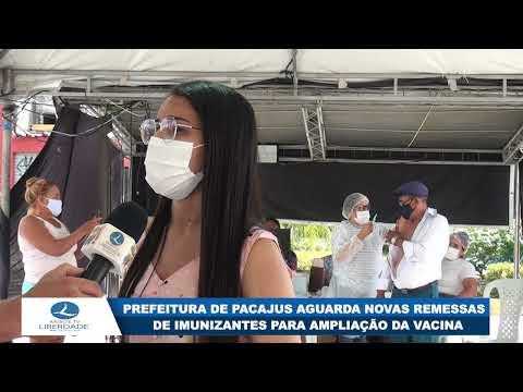 PREFEITURA DE PACAJUS AGUARDA NOVAS REMESSAS DE IMUNIZANTES PARA AMPLIAÇÃO DA VACINA