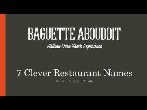Best Lunch Spots Ft. Lauderdale | Baguette Abouddit | Ft. Lauderdale