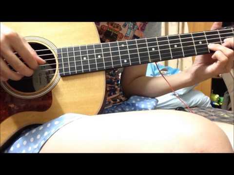 秘密 藍又時 吉他 cover