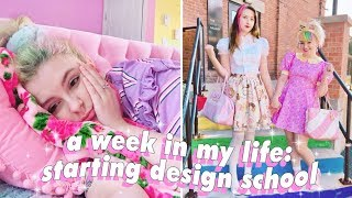 First Day of Design School, Art Haul, and a BIG OLE RANT | Weekly Vlog