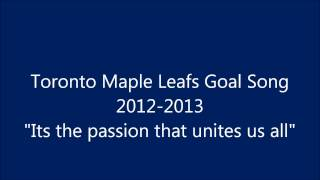 Toronto Maple Leafs Goal Song 2013 1080p