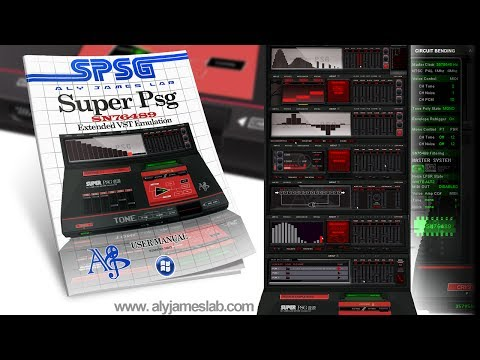SUPER PSG SEGA MASTER SYSTEM SN76489 EXTENDED VST
