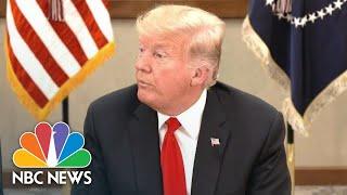 President Donald Trump Calls Arrests In Jamal Khashoggi Death A 'Big First Step' | NBC News
