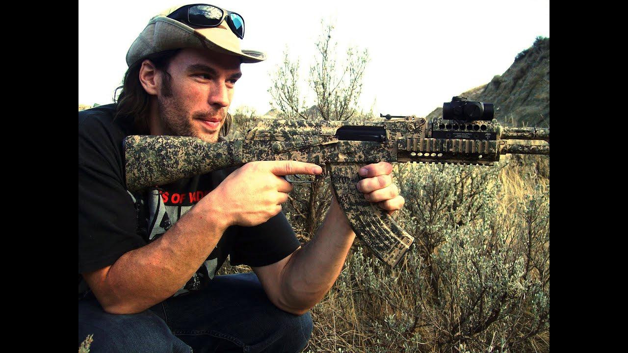 Paint Job Cost >> Paint Your Gun - DESERT!!! - Rex Reviews.wmv - YouTube