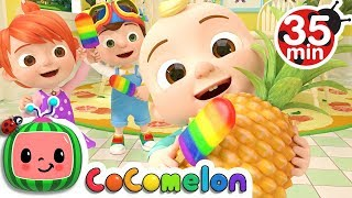 Color Song (Ice Pop) | +More Nursery Rhymes - Cocomelon