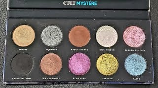 Bad Habit Beauty - Mystere Eyeshadow Palette from the Shop Hush App