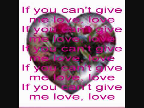 SUZI QUATRO - If You Can't Give Me Love (with lyrics)