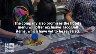 Taco Bell shares first look at Palm Springs hotel