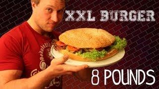 The XXL Burger - 8lb (3.6kg) Burger | Furious Pete