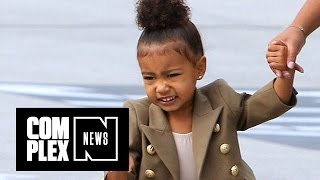 North West Goes Off on Paparazzi