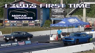 Drag racing our 2019 Dodge Challenger 1320 for the first time!