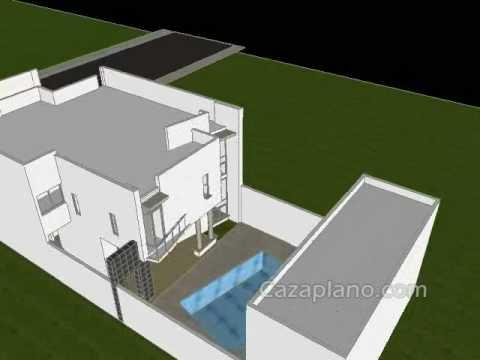 Dise Os De Casa Moderna 3d Incluye Planos De Casas