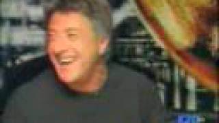 Dustin Hoffman Can't Stop Laughing