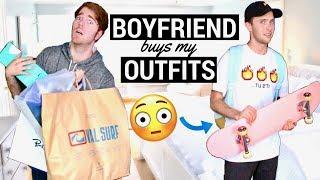Boyfriend Buys My Outfits!