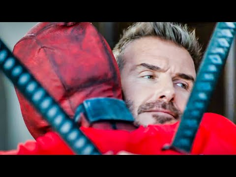 DEADPOOL 2 'David Beckham' Funny Clip + Trailer (2018)