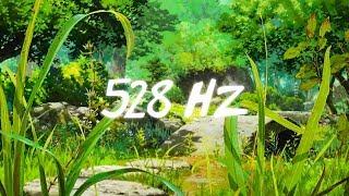 528 Hz - Deep Forest Meditation Music | Ambient Fantasy Healing Sounds