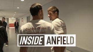 Inside Anfield: Liverpool Legends 5-5 Bayern Munich | Alonso, Gerrard, Kuyt and more