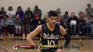High School Boys Basketball: Minnehaha Academy vs. DeLaSalle